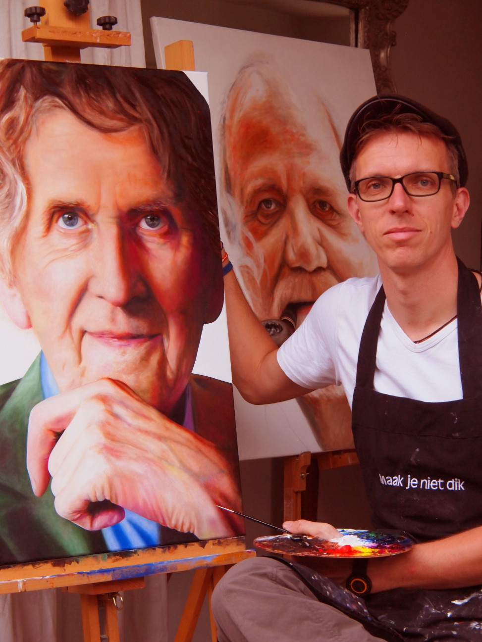 Henk Jan Sanderman kunstenaar uit Harderwijk