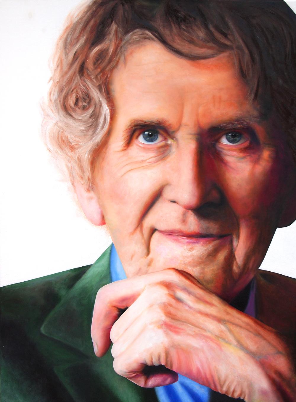 Portretschilderij Seth Gaaikema Sterren op het Doek