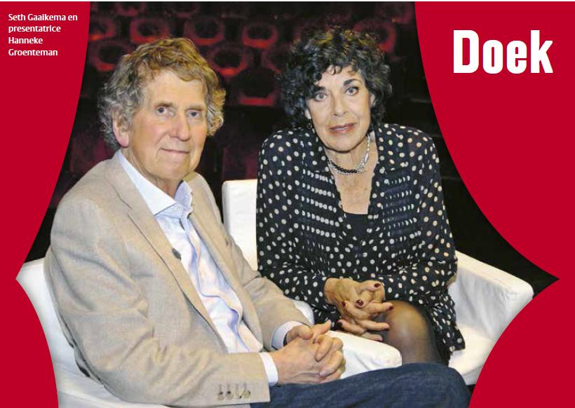 Hanneke Groenteman met Seth Gaaikema