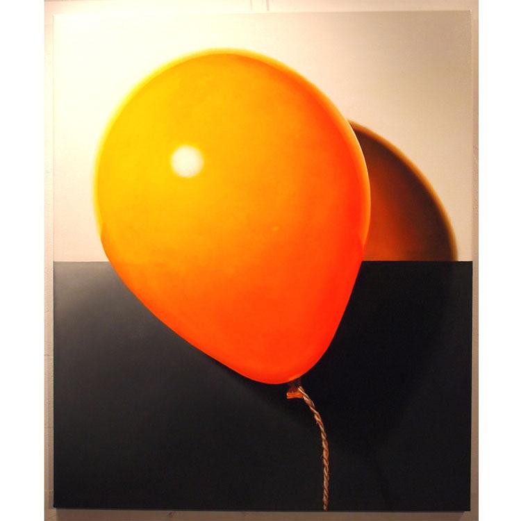 Oranje ballon - Henk Jan Sanderman